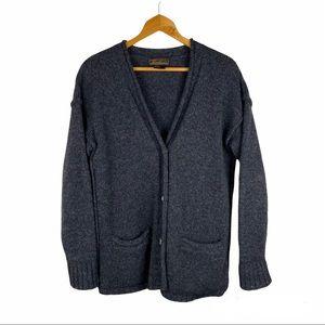 Vintage Eddie Bauer Wool Cardigan Sweater